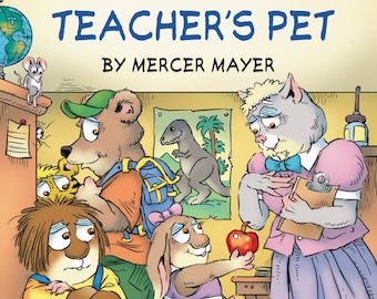 BRAND NEW Little Critter Just A Teacher's Pet autographed personalized-Free shipping