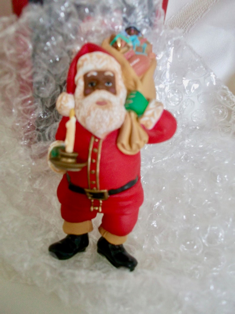 1996 Hallmark Keepsake Ornament ~ EVERGREEN SANTA ~ MINT