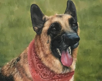 Custom Portrait Pet Painting