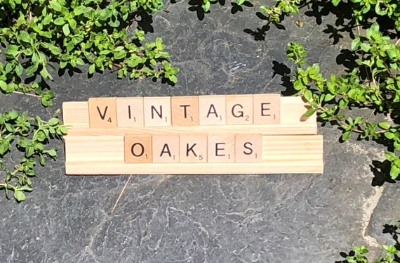 Customize It Individual Scrabble Letters And Racks Jewelry Art Projects Etc Custom Scrabble Letter Art
