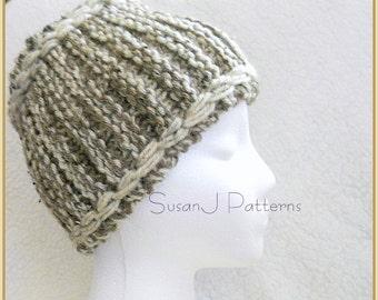 Knitting Pattern  - Thick Winter Headband
