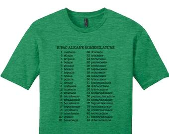 Organic Chemistry Shirt Womens Tee Mens Shirt Womens TShirt Gift for Teacher Nerdy Chemistry Shirt Womens Science Shirt Mens Science Shirt