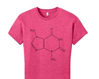 Chocolate Shirt Men's Shirt Women's T-Shirt Gift for Teacher Nerdy Chemistry Shirt Chocolate Lovers Gift Science Shirt Chocolate Molecule
