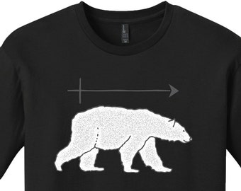 Polar Bear Shirt Funny Shirts for Men Science Shirt Funny Science Teacher Gifts for Teachers Graduation Gifts Chemistry Gift Chemistry Shirt