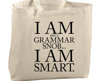 Grammar Tote Bags and Purses Bags and Totes Bags for Women Editors Picks Christmas Picks Christmas Gifts for Her Gifts for Women Gift Ideas
