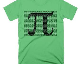 CLEARANCE Pi Day Pi Shirt Math Shirt Digits Pi TShirt Math Teacher Gifts for Teacher Shirt Physics Science Geekery Geeky Nerdy Shirt Pi Day