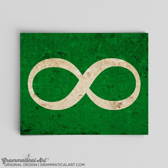 Infinity Symbol Print Math Physics Science Teacher Gifts For Etsy