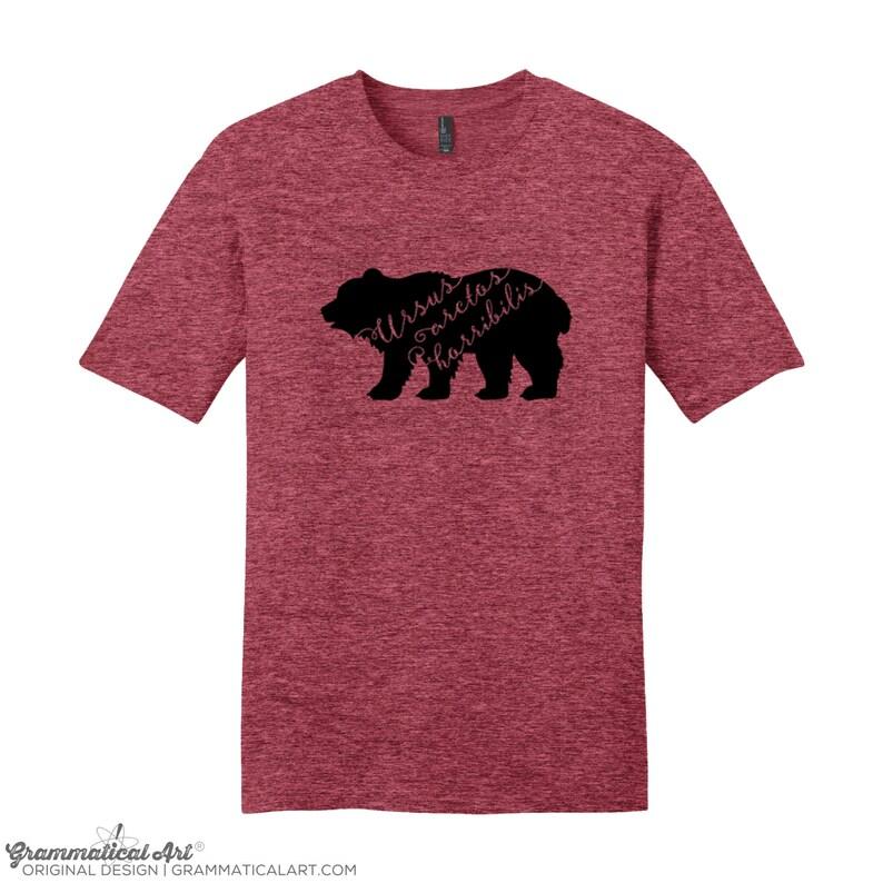 Science Shirts Men Science Shirts Women Bear Shirt Grizzly image 0