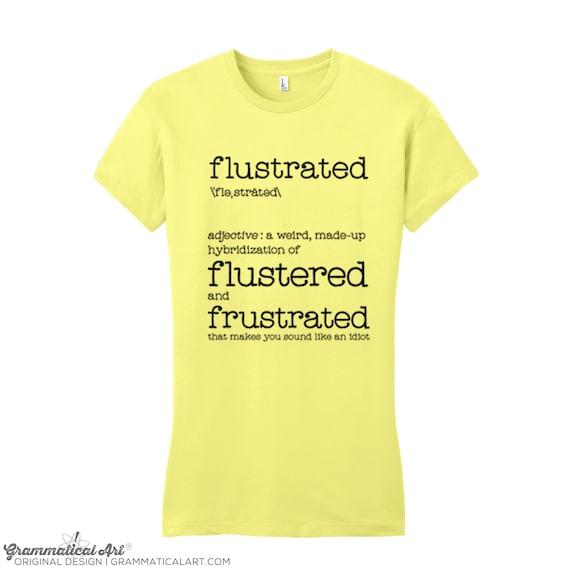 sprüche t shirts englisch T Shirts mit Sprüchen T Shirt Frauen T Shirt Männer Flustrated | Etsy sprüche t shirts englisch