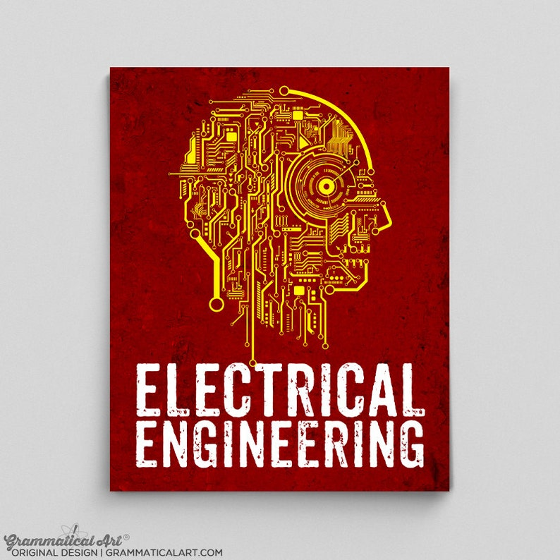 5813a59be0e Electrical Engineer Poster Engineering Circuit Board Teacher