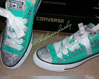 e71d061f18bc Mint green converse