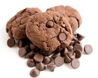 Triple Chocolate Cookies - 24 cookies