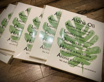 Aloha Oli - the meaning of Aloha