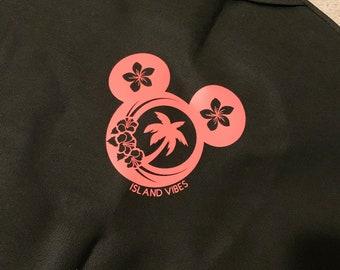 Hawaiian Disney Life garment Bag