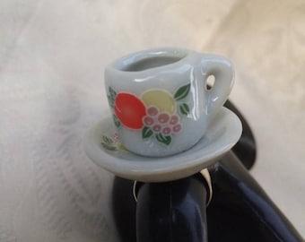 Tea Cup Ring.
