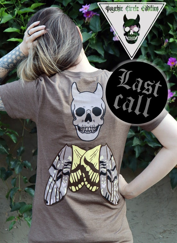 Unisex Death head hawk moth Tshirt Version!