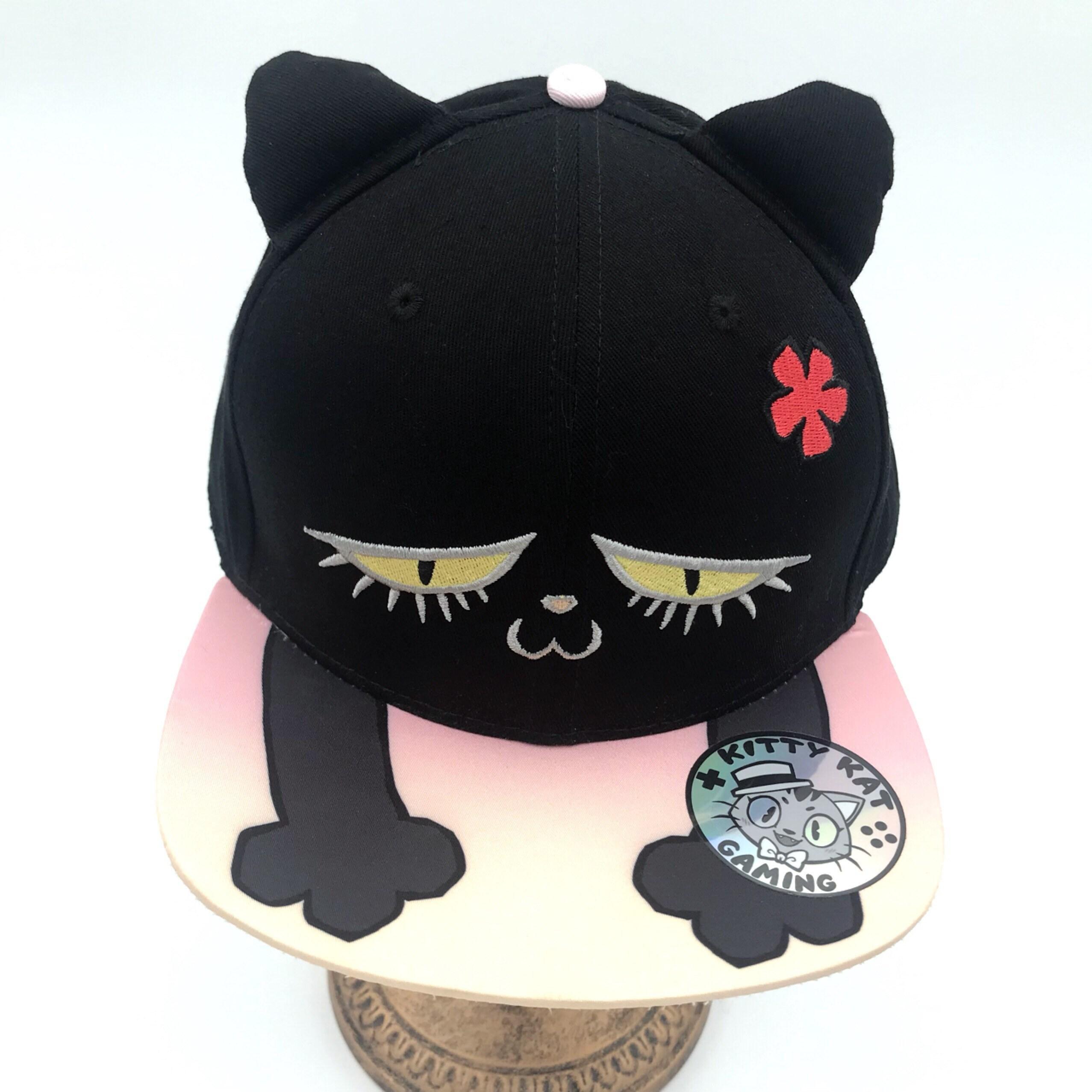 d99a8d9b83225 Kitty kat gaming - cat snapback hat!