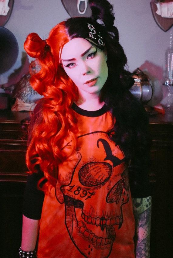 Dracula's curse - Unisex raglan shirt