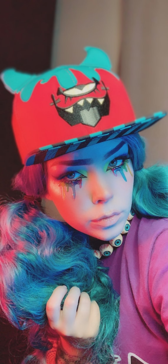 Kitty kat gaming X Krooked Glasses - Little Monster Hat!