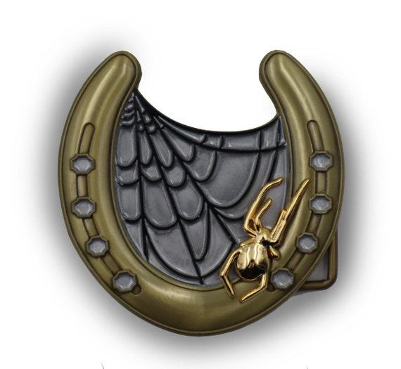 Lucky horseshoe - Unisex belt buckle!