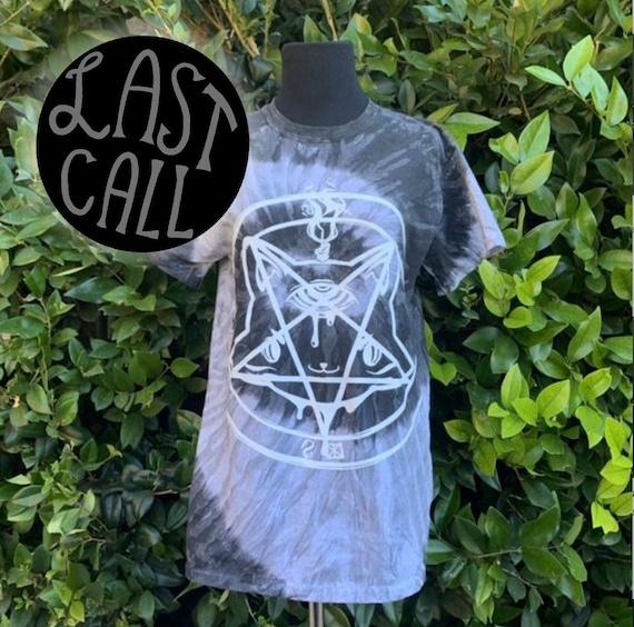 Catagram Unisex Tie-Dye t-Shirt! Summer goth!