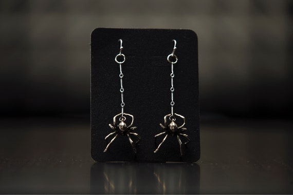 The Black Widow Earring set