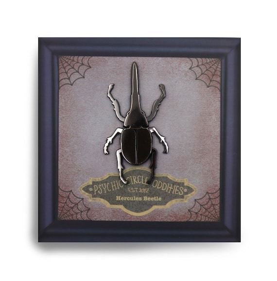 Moving leg- Hercules beetle enamel pin!
