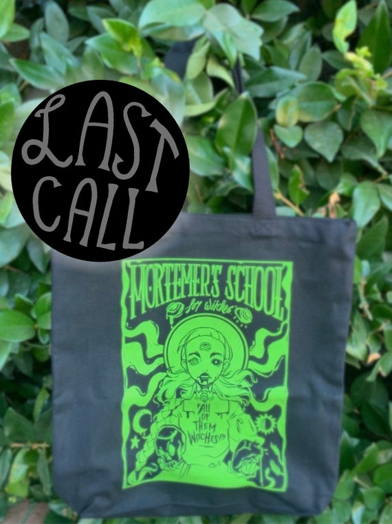Mortemer's Witch School Tote Bag!
