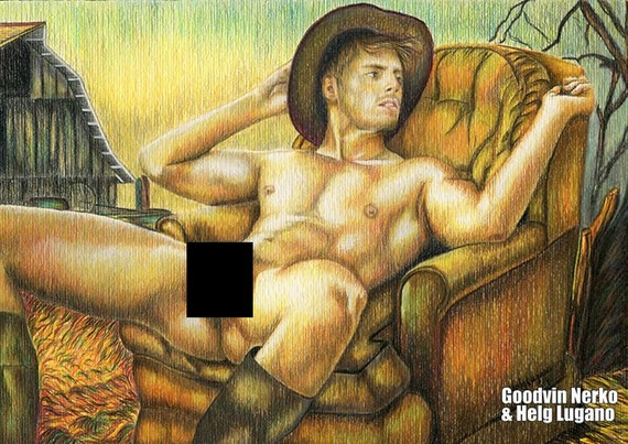 Obraz gejowski chłopiec