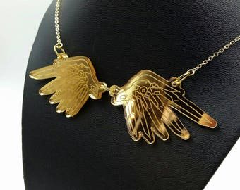 Mercy Wings Necklace