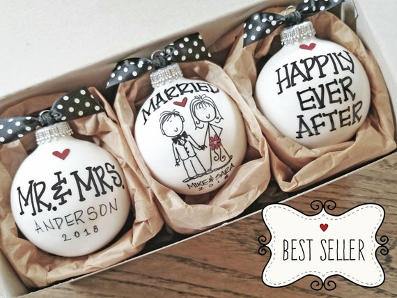 Wedding Gift Gift For The Couple Wedding Ornaments Etsy