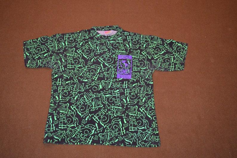 543fdaef8e Rad As Heck Vintage 90's HOBIE Surf All Over Print T-Shirt