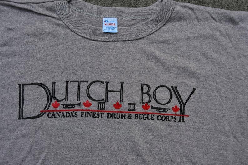 Crazy Dope Vintage 80's Dutch Boy / Champion Brand Crop Top