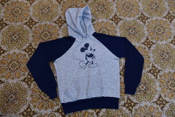 Crazy Killer Vintage 70's/80's Mickey Mouse Hooded