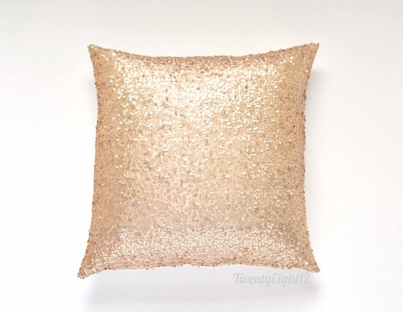 Gold Polka Dot Pillow Cover 20 x 20
