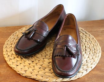 Vintage 90s ~ G.H. Bass & Co. ~ WEEJUNS ~ Mens Size 13 D ~ Great Pre-Owned Condition ~ Tassles