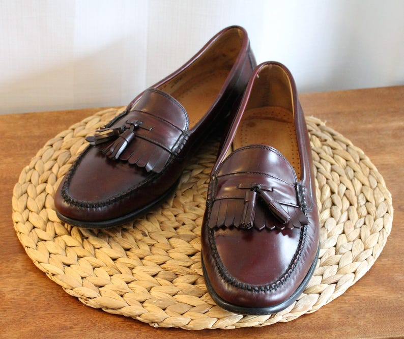 f21d97865 Vintage 90s ~ G.H. Bass & Co. ~ WEEJUNS ~ Mens Size 13 D ~ Great Pre-Owned  Condition ~ Tassles