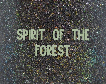"""Spirit of the Forest chameleon glitter nail polish 15 mL (.5 oz) from the """"A New Wind"""" Collection"""