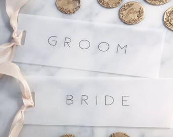 Vellum Place Cards, Wedding place cards, Place Cards, Wedding Name Tags, Vellum Name Tags, Vellum Name Tag, Name Tags, Vellum,Hand Dyed Silk