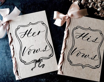 Wedding Vow Booklets, Wedding Vow Books, His and Her Wedding Vow Books, Wedding Vow Cards, Wedding Vows, Vow Cards, Vows, Wedding Vows, Vow