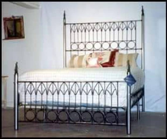 Iron Bed Queen Sizewrought Iron Bed Gothic Bondage Bed Etsy
