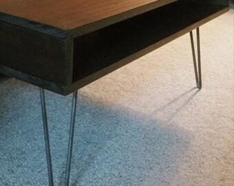 "12"" table legs, hairpin legs, set of 4, hairpin legs,metal table legs,mid century modern,industrial table,metal legs,loft furniture"