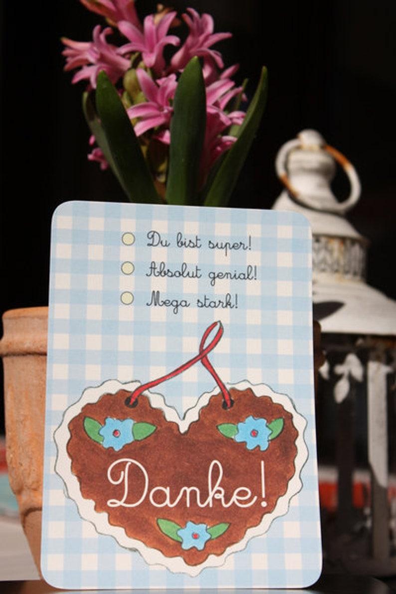 Thank you Postcard Thank You