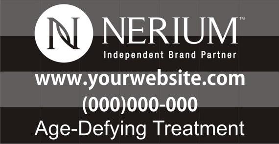 Nerium logo car decal