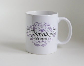 The maid of honor mug