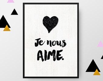 A4 print: I love us