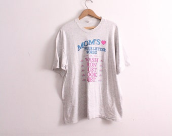 Mom's Four Letter Words Tee