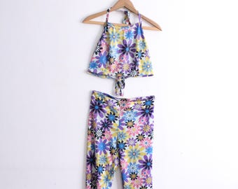 Flower Child 90s Matching Outfit