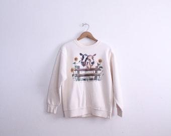 Cow Love 90s Sweatshirt