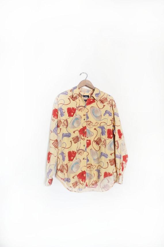 Lasso 90s Western Shirt